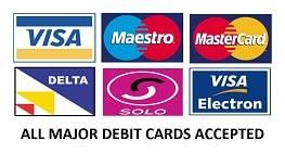 Debit Cards Welcome